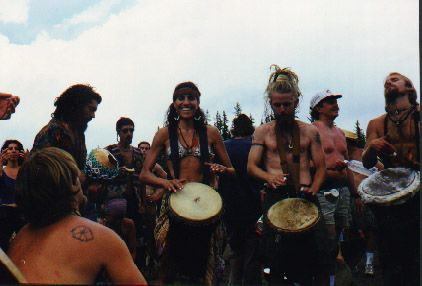 rainbow gathering photo essay